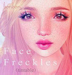 .bonbon. Face Freckles (Tintable) FREE