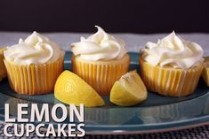 Lemon Cupcakes Recipe on Yummly. @yummly #recipe