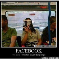 Anti-social media.