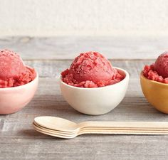 Strawberry Grand Marnier Sorbet | Vitamix