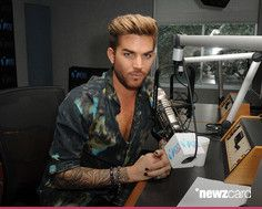 (EXCLUSIVE COVERAGE) Adam Lambert visits Radio Station Y-100 on July 13, 2015 in Miami, Florida. (Photo by Larry Marano/Getty Images)