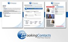Booking Contacts Sign Up Form.