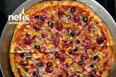 Ev Yapımı Pizza Tarifi nasıl yapılır? 1.219 kişinin defterindeki Ev Yapımı Pizza Tarifi'nin resimli anlatımı ve deneyenlerin fotoğrafları burada. Yazar: Tuğçe Acar