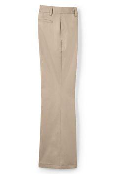 Women's Mid Rise Chino Trouser Pants