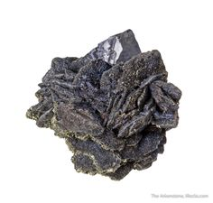 Wurtzite with Galena, Chocaya mine, Atocha-Quechisla District, Potosi Department, Bolivia, Miniature, 4.1 x 3.3 x 2.6 cm, Wurtzite is a rare sulfide, and the best are generally thought to have come out of this mine long ago., For sale from The Arkenstone, www.iRocks.com. For more details on this piece and others, visit http://www.irocks.com/minerals/specimen/45382
