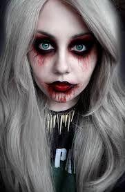 insane asylum halloween makeup - Google Search