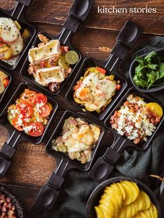 Raclette ingredients: classic raclette & new ideas Kitchen stories - Party - Meat Recipes Healthy Eating Tips, Healthy Snacks, Healthy Recipes, Healthy Nutrition, Kitchen Stories, Vegetable Drinks, Cream Recipes, Smoothie Recipes, Healthy Snack Recipes