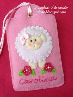 cute for a little girls book bag or overnight bag