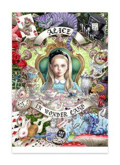 不思議の国のアリス(ポストカード10枚セット) - takumi - BOOTH(同人誌通販・ダウンロード)