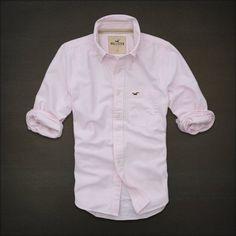 Hollister Men's White Point Shirt