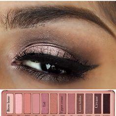 #naked3 #urbandecay #anastasibeverlyhills #anastasiabrows #eotd #makeup #makeuplook #makeupjunkie #instamkeup #vegas_nay #maccosmetics #macgirl - @makeupby_ney- #webstagram