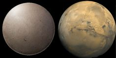April Fools: Neither is a moon! It's Frying pan / Mars, a planet!
