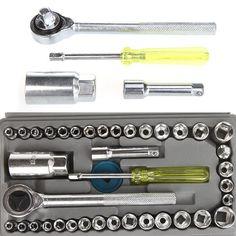 Socket Sleeve Wrench Combination Set