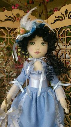 Boneca de pano. Dama antiga Soraia Flores.