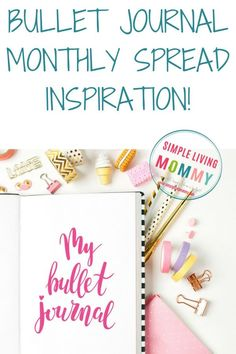 Bujo monthly spreads - where do you get your bullet journal monthly spread inspiration? Here are some awesome ideas to get you started when you suffer from bullet journal writer's block!