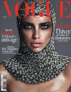 Adriana Lima for Vogue Paris November 2014