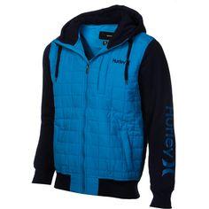 Hurley Dual Zip Jacket - Men's