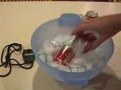 How to quickly chill a drink