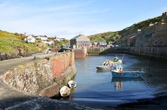 Porthgain Harbour in Pembrokeshire.  Awesome food in the Sloop Inn!