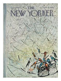 Abe Birnbaum the New Yorker cover February 4 1967