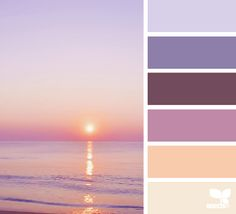 I'm not always a fan of purple but these muted tones combined with the vanilla/peachy tones feels good :D