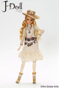 J-Doll J-611 Abbott Street Collectible Fashion Doll J-Doll