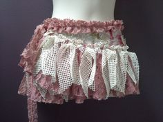 WOMANS TUTU BELT gypsy skirt wrap around belt by SwirlnTwirlKids