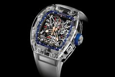 """Richard Mille Releases a Blue Quartz TPT """"Jean Todt Tribute"""" Watch Collection  http://feedproxy.google.com/~r/hypebeast/feed/~3/YuC28Q7JJjI/"""