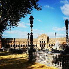 Plaza de España.Sevilla.Andalucia.España..........