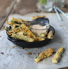 Parmesan Courgette Fries