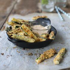 Parmesan Courgette Fries