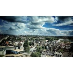 Sonne-Wolken-Mix über dem #Frankenberger_Viertel in #aachen #sonne #sun #herbst #clouds