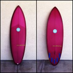 Album Polyphonic Round Tail #resin #tint #surfboard