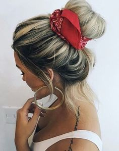Bandana Hairstyles with Hair Down Lovely Cute Headbands for Women … – Lady Trendy Pigtail Hairstyles, Bandana Hairstyles, Down Hairstyles, Summer Hairstyles, Cute Headbands, Headbands For Women, Hair Scarf Styles, Curly Hair Styles, Gorgeous Hair