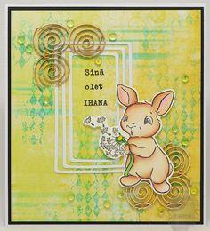 pupuliini... - SannaS Penny Black, Heron, Winnie The Pooh, Disney Characters, Fictional Characters, Art, Art Background, Winnie The Pooh Ears, Herons