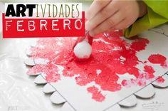 #ARTividades despierta la creatividad de tus hijos de #Preescolar con un plan de #ActividadesCreativas y sencillas