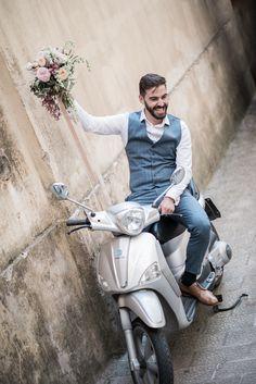 Wedding Photography, Motorcycle, Motorcycles, Wedding Photos, Wedding Pictures, Bridal Photography, Motorbikes, Engine, Wedding Poses
