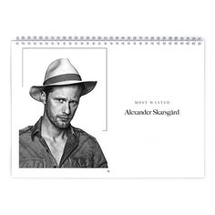 Alexander Skarsgard  Most Wanted Calendar by MovieShop on Etsy