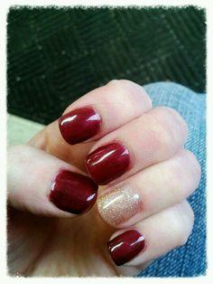 Shellac (gel) nail polish