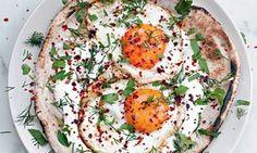 Turkish fried eggs