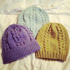 Ravelry: Lion and Lamb hat pattern by Karoline Withington