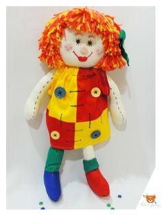 Boneca de Pano - Emília