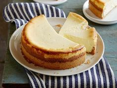 Get Goat Cheese Cheesecake with Spiced Wafer Crust Recipe from Food Network
