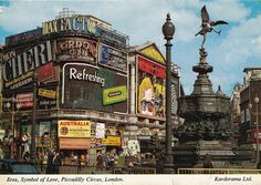 Piccadilly Circus. London