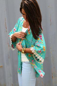 Summer Breeze {Kimono}