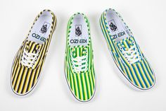 Kenzo x Vans Authentic 'Stripes' Pack