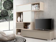 Tv Unit Furniture, Master Room, Contemporary Interior Design, Unique Furniture, House Rooms, Interior And Exterior, Living Room Designs, Family Room, Room Decor