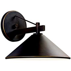Ripley Collection 1-Light 12 Olde Bronze Dark Sky Outdoor Wall Sconce 49061OZ