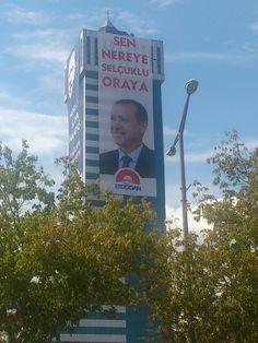 Recep Tayyip Erdoğan. Konya. Türkiye
