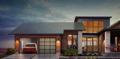 Tesla introduces gorgeous new solar shingles and some serious storage